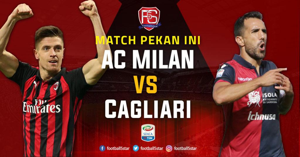 Image result for AC Milan vs Cagliari