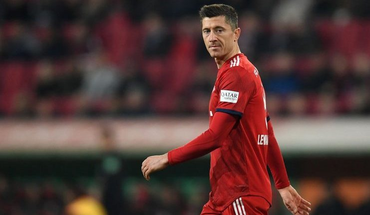Robert Lewandowski - Niko Kovac - Bayern Munich - @234Bet