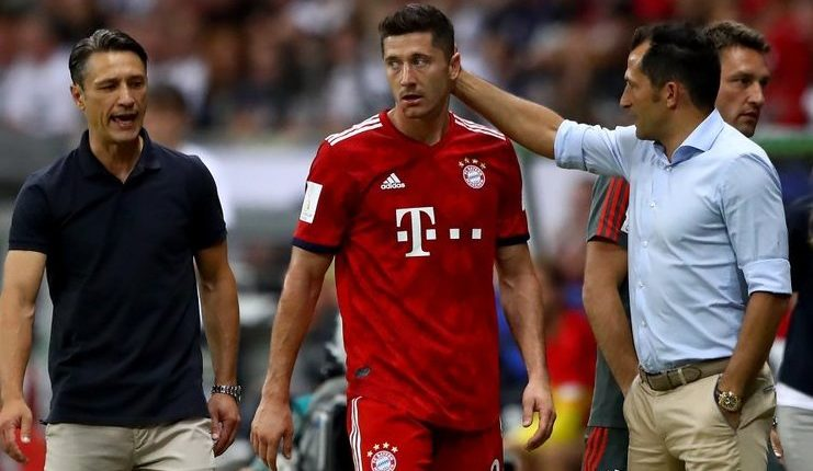 Salihamidzic didukung Uli Hoeness dalam memproteksi Lewandowski dari kritik Hamann.