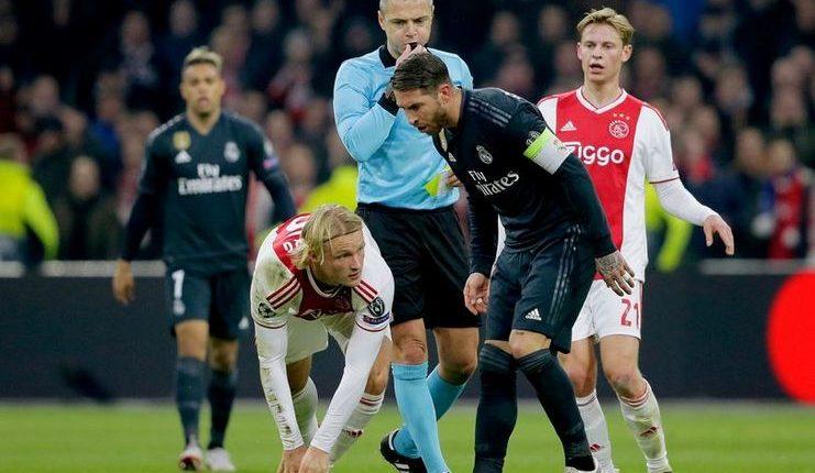 Sergio Ramos bisa dapatkan hukuman tambahan bila terbukti sengaja dapatkan kartu kuning saat lawan Ajax.