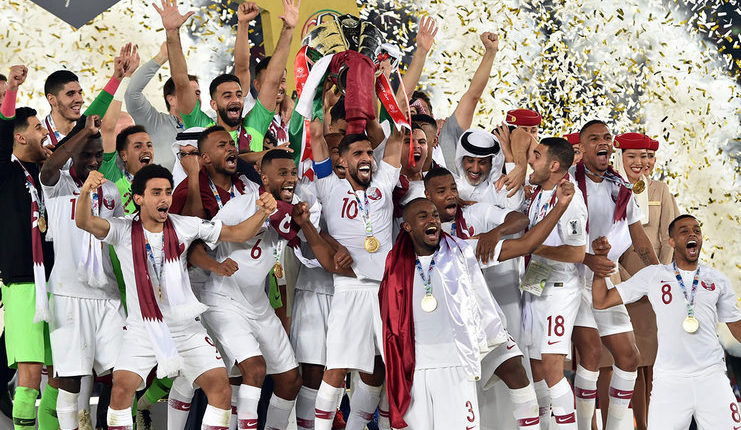 Timnas Qatar membuktikan kebenaran prediksi Xavi Hernandez di Piala Asia 2019.