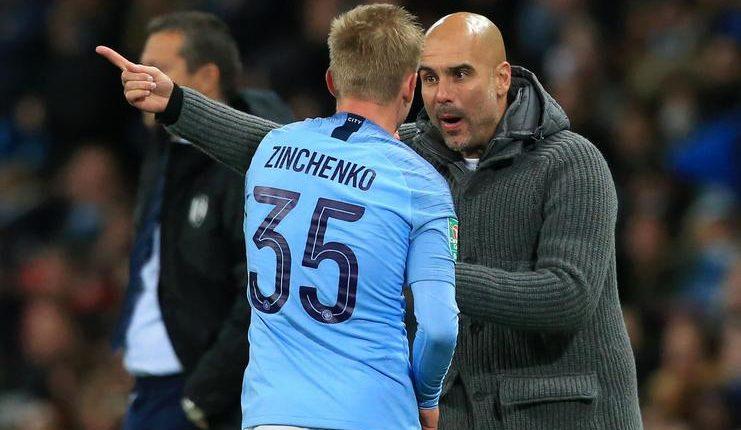 Ppep Guardiola menilai Oleksandr Zinchenko sebagai figur yang patut diteladani siapa pun.