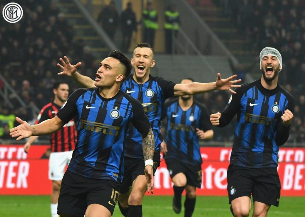 5 Fakta Menarik AC Milan vs Inter Milan - Football5star - Twitter @inter_en