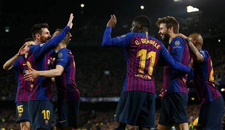 Barcelona di mata Ernesto Valverde tak bermain sempurna saat menggasak Lyon pada leg II babak 16-besar Liga Champions.