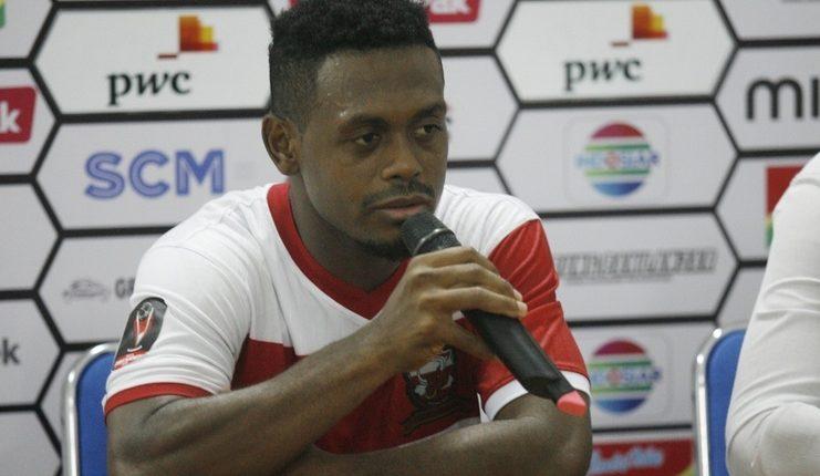 David Laly - Madura United - Piala Presiden 2019