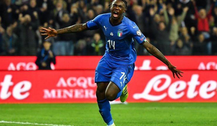 Italia vs Finlandia - Nicolo Barella - Moise Kean - Goal