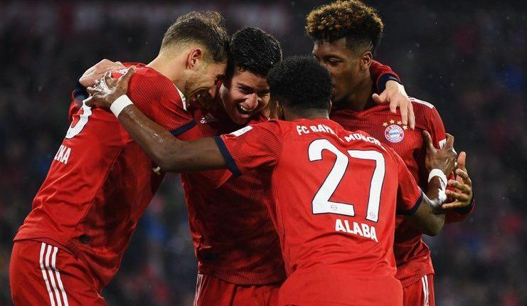 James Rodriguez - Bayern Munich - Liga Jerman - Football5star