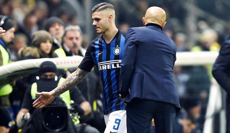Luciano Spalletti menyatakan Mauro Icardi masih mogok main untuk Inter Milan.