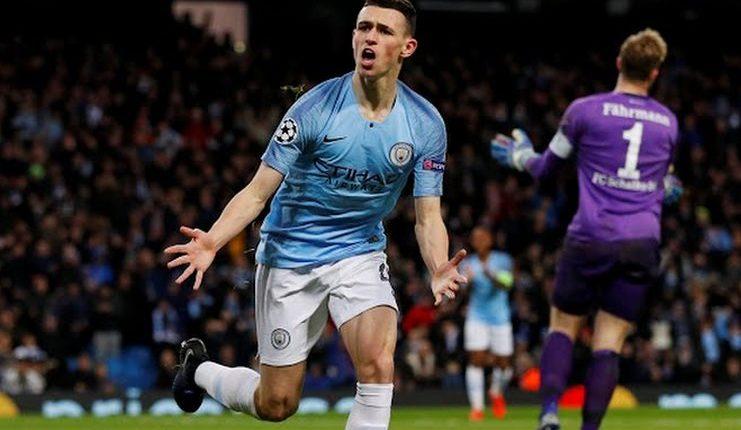 Manchester City - Shalke 04 - Liga Champions - Football5star - Foden