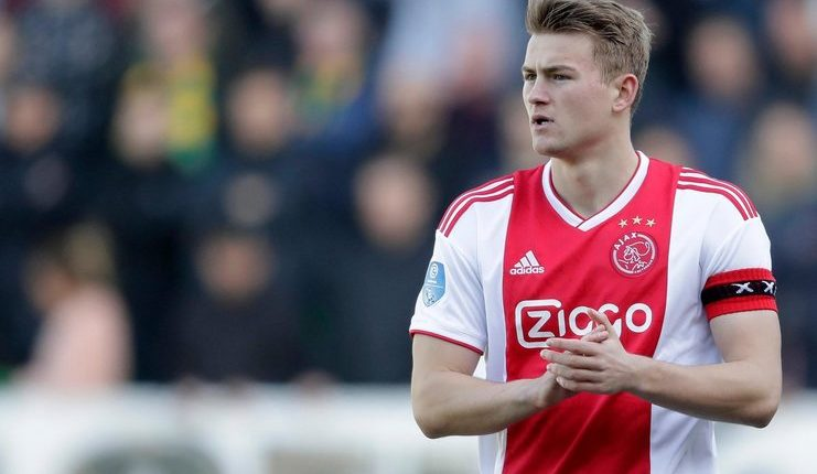 Matthijs de Ligt - Marc Overmars - Ajax Amsterdam - @AFCAjax