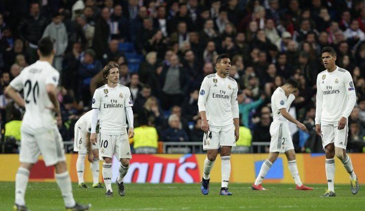 Real Madrid tersingkir dari Liga Champions setelah dihajar Ajax Amsterdam.