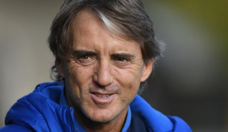 Roberto Mancini - Timnas Italia - Twitter @BBCSport