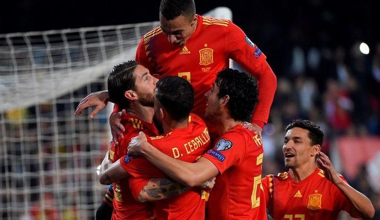 Spanyol - Norwegia - Kualifikasi Euro 2020 - Football5star