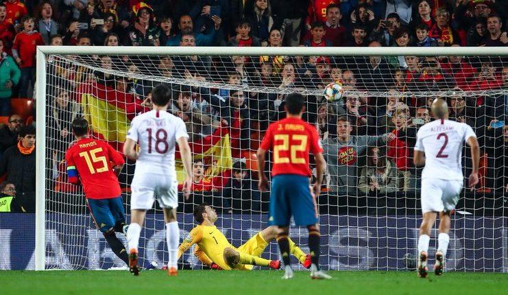Spanyol - Norwegia - Kualifikasi Euro 2020 - Football5star - Ramos