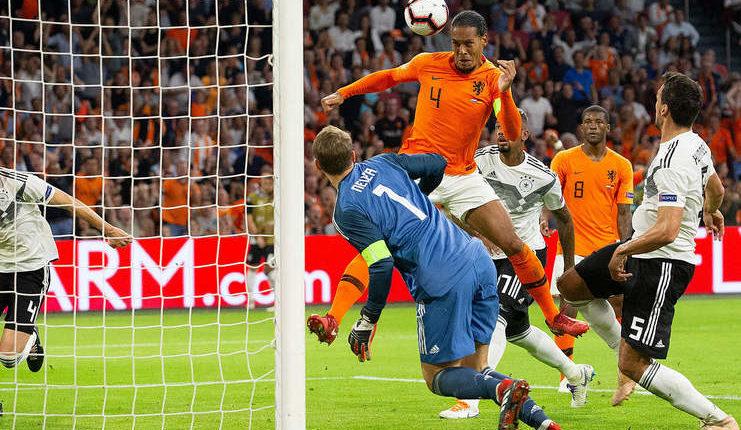 Virgil van Dijk selalu bobol gawang Manuel Neuer dalam tiga kesempatan terakhir bersama klub dan timnas Belanda.