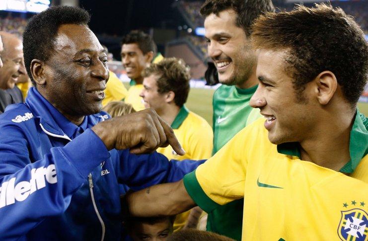 pele neymar timnas brasil - soccerly_com