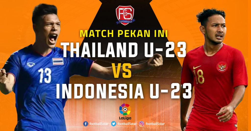 Thailand U-23 vs Indonesia U-23