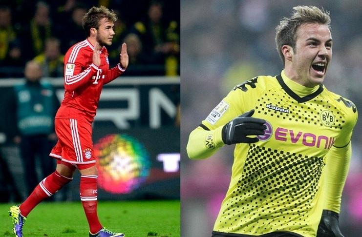 5 Pemain yang Pernah Membela Bayern Munich dan Borussia Dortmund - Mario Goetze - Sportskeeda