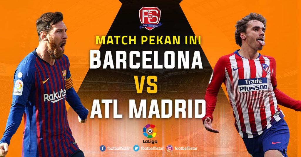 Prediksi: Barcelona vs Atletico Madrid