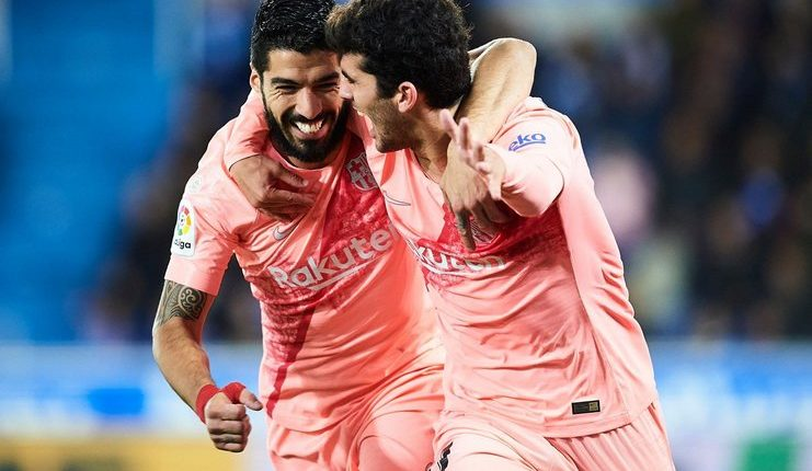 Carles Alena - Barcelona - Luis Suarez - Football5star -
