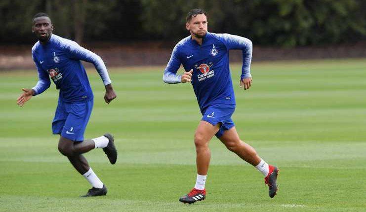 Danny Drinkwater baru sekali turun membela Chelsea pada laga resmi sepanjang musim ini.