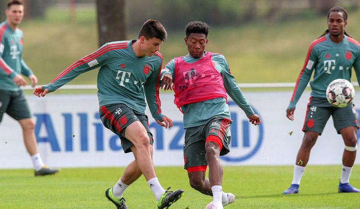 David Alaba dan Manuel Neuer diyakini Niko Kovac dapat tampil bagi Bayern Munich pada Der Klassiker.