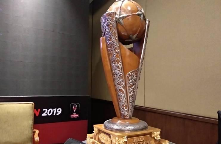 Diperbaiki, PSSI Pastikan Trofi Piala Presiden 2019 Semakin Cantik - Football5star/AliefM