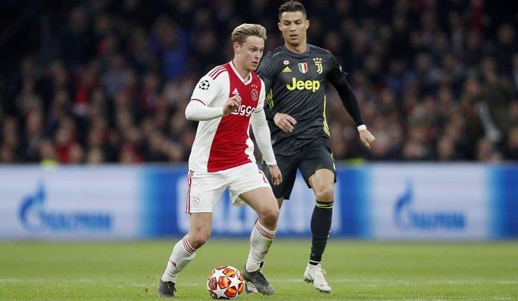 Frenkie de Jong merasa Ajax Amsterdam seharusnya menang saat menjamu Juventus pada leg I perempat final Liga Champions.