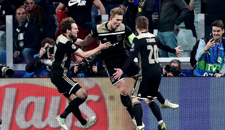 Juventus - Ajax - Van der Beek - Football5star - De Ligt
