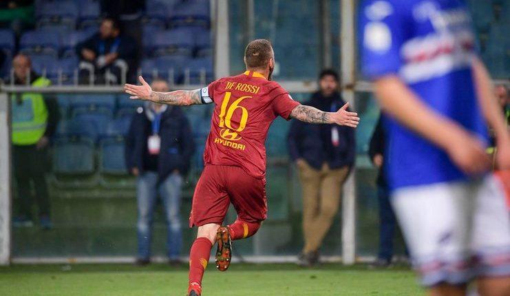 Ranieri - De Rossi - AS Roma - Football5star -