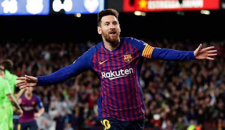 lionel messi barcelona la liga - Twitter @TheSporTalk