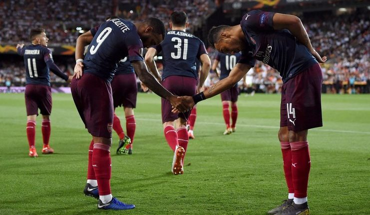 Arsenal - Valencia - Liga Europa - Football5star -Aubameyang -