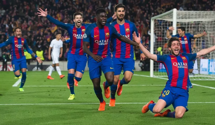 Barcelona 6-1 Paris Saint-Germain - Liga Champions - Footballstar