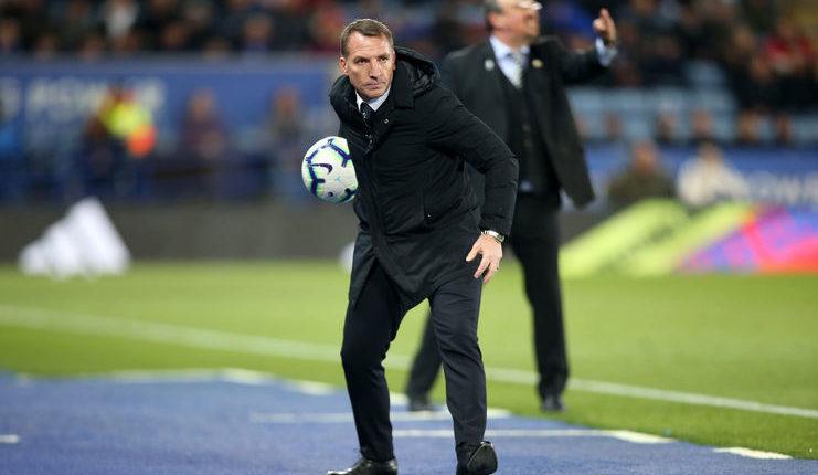 Brendan Rodgers menegaskan Leicester City mengincar kemenangan atas Manchester City bukan demi Liverpool.