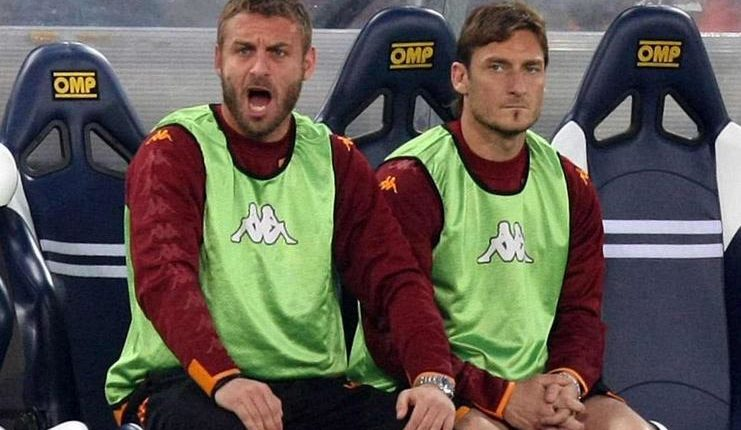 De Rossi - Totti - AS Roma - Football5star -