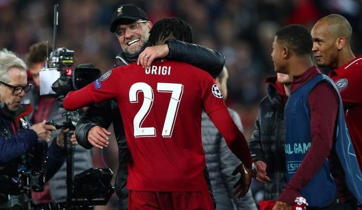 "Divock Origi - Jurgen Klopp - Liverpool - Liga Inggris - Telegrapgh ""class ="" wp-image-215986"