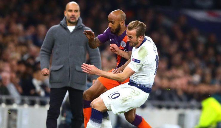 Harry Kane mengalami cedera pergelangan kaki saat Tottenham Hotspur melawan Manchester City pada ajang Liga Champions.
