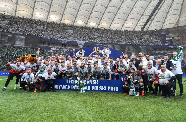 Lechia Gdansk yang diperkuat Egy Maulana Vikri berhasil menjuarai Piala Polandia 2018-19.
