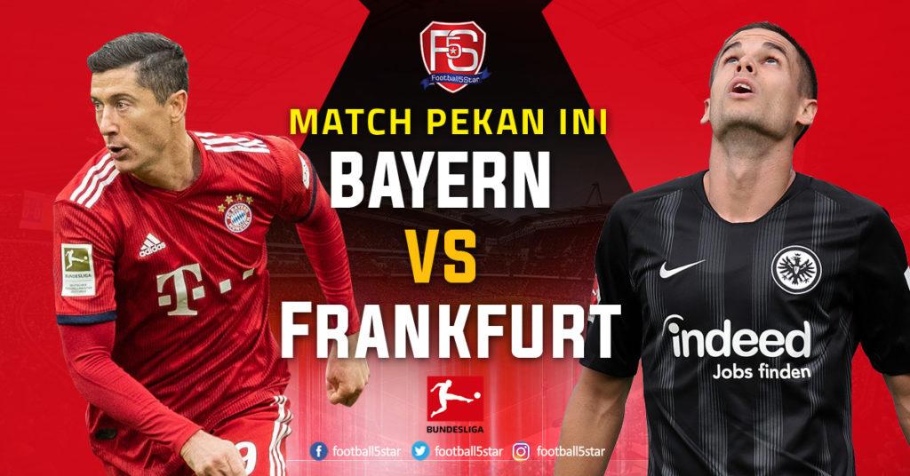 Prediksi Bundesliga 1 Bayern Munich vs Eintracht Frankfurt