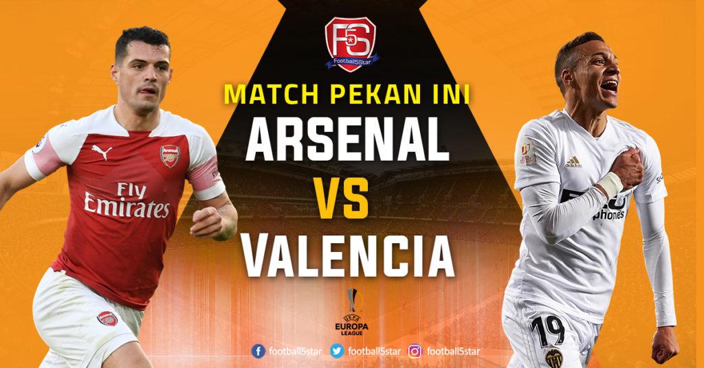 Prediksi Liga Europa Arsenal vs Valencia