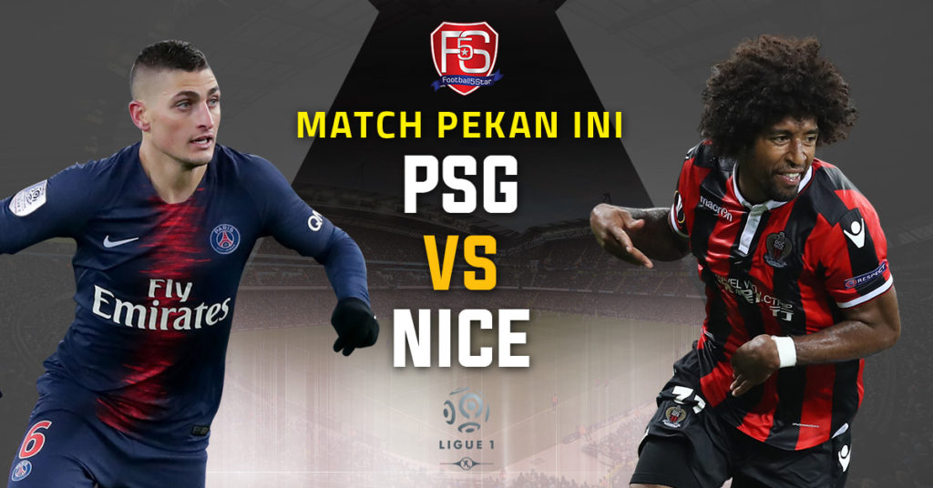 Prediksi Ligue 1 Paris Saint-Germain vs Nice