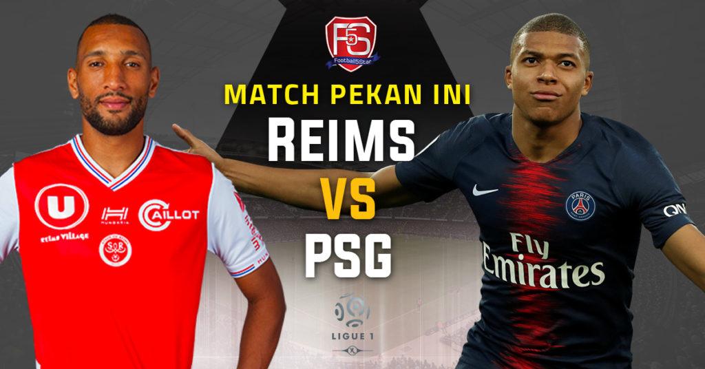 Prediksi Ligue 1 Stade Reims vs Paris Saint-Germain