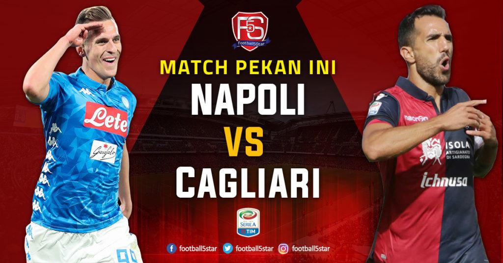 Prediksi Serie A Napoli vs Cagliari