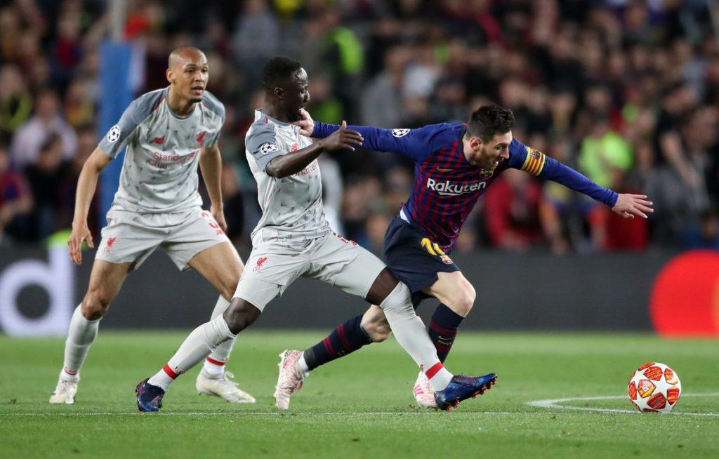 Rio Ferdinand - Lionel Messi -Barcelona - Liga Champions - Squawka