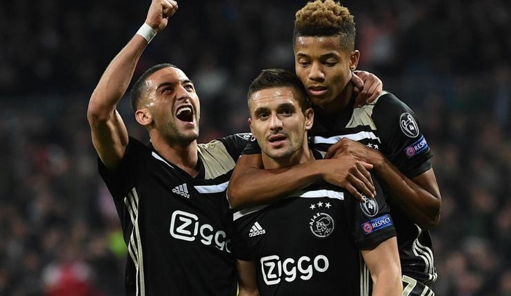 Ziyech - Neres - Ajax - Football5star