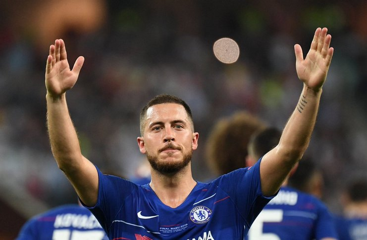Bursa Transfer eden hazard chelsea real madrid - twitter FootballFactly