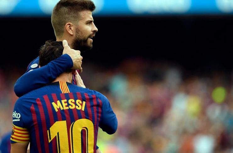 Gerard Pique Tidak Takut jika Lionel Messi Tinggalkan Barcelona