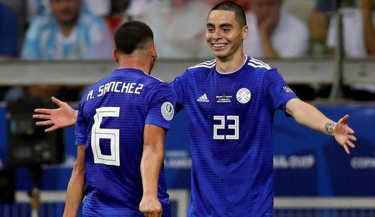 Andai menang atas Kolombia, Paraguay akan membuat Argentina hanay finis sebagai peringkat ketiga Grup B.