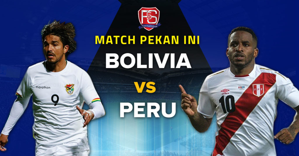 Prediksi Copa America 2019 Bolivia vs Peru