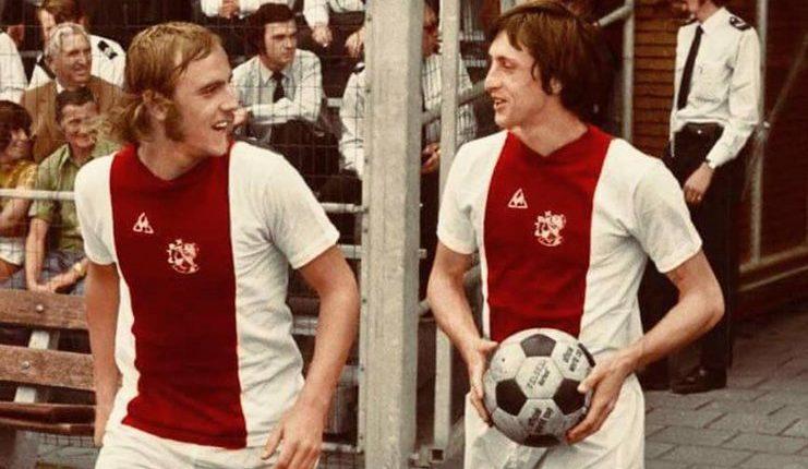 Johan Neeskens tampil di dua final Piala Champions bersama Ajax pada 1970-an.